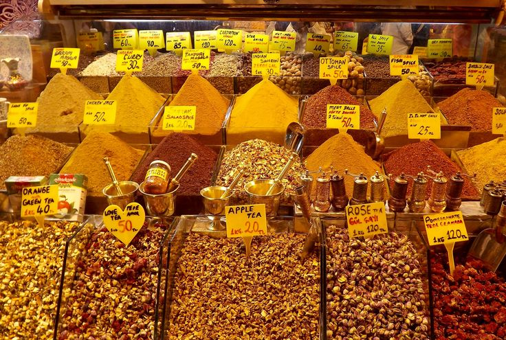 https://flic.kr/p/Gd98aP | Spices | Gran Bazar, Istanbul TUR