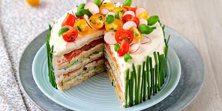 Sandwich cake, facile et pas cher : recette sur Cuisine Actuelle