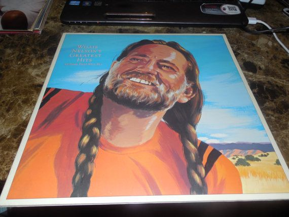 Vintage Vinyl Record Willie Nelson Greatest Hits and Some that Will Be LP 1981 2 LPs  Vinyl Records Etsy Buy Cheap Records #handmade #etsyretwt