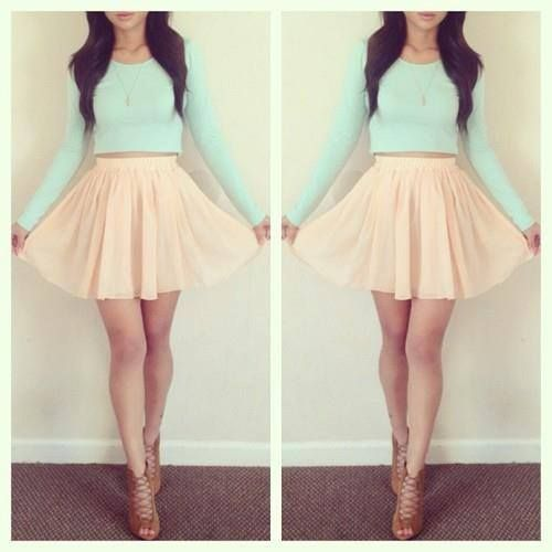 A cute dress but comfortable. ♥