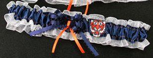 Detroit Tigers Baseball Wedding Toss Garter, Handmade