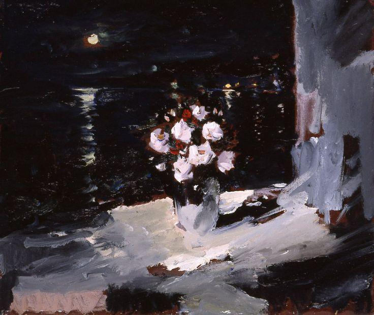 Night in view a moon Yuri Konstantinov