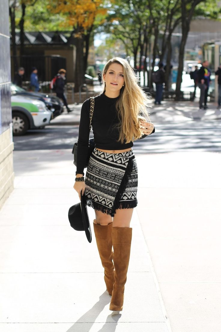s black cropped sweater black and white geometric