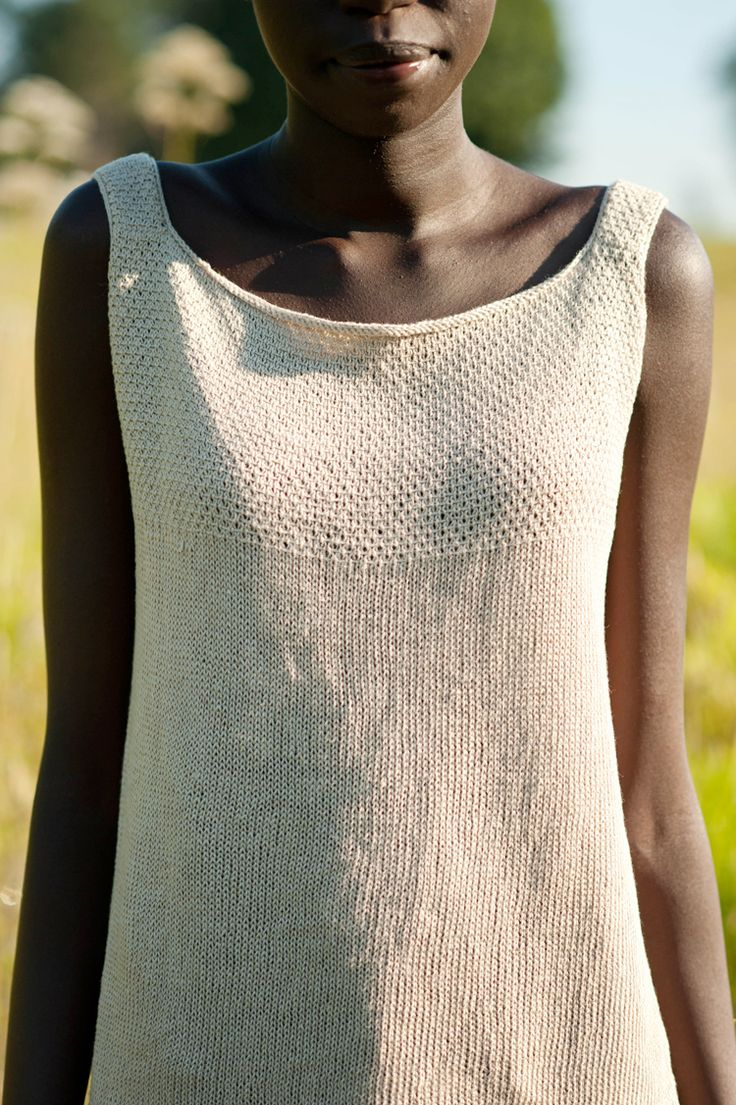 knit camisole, quince and co