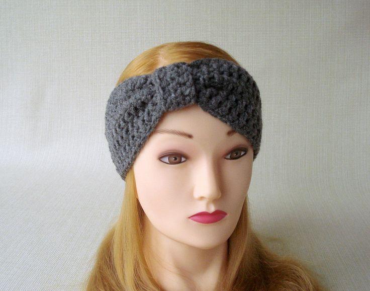 Winter headband for women Crochet headband ear warmer Womens crochet headbands Crochet Earwarmer Adult Turban headband Women head bands by LJaccessories on Etsy