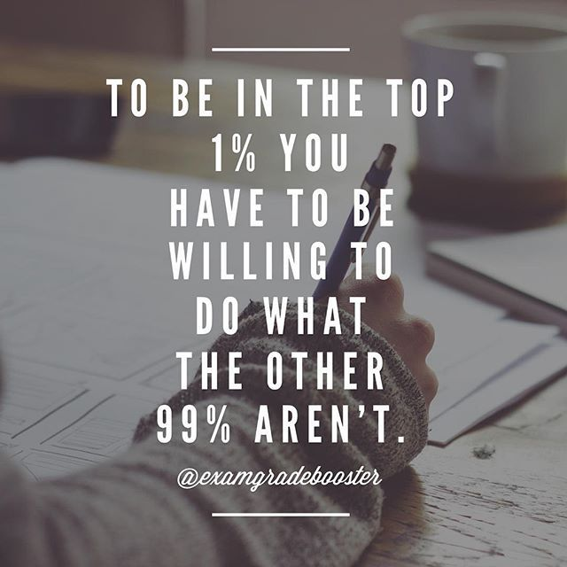 Are you willing to go the extra mile to be the best?