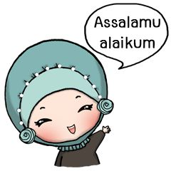 check out the Derina DeHIJAB sticker by Saroh O. on chatsticker.com