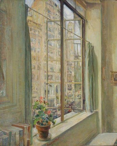Clara Louise Bell - The Studio Window