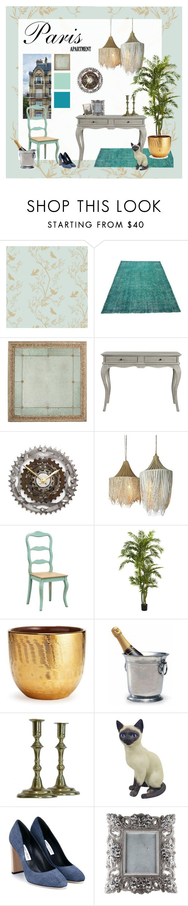 Paris Apartment by treadandpedals on Polyvore