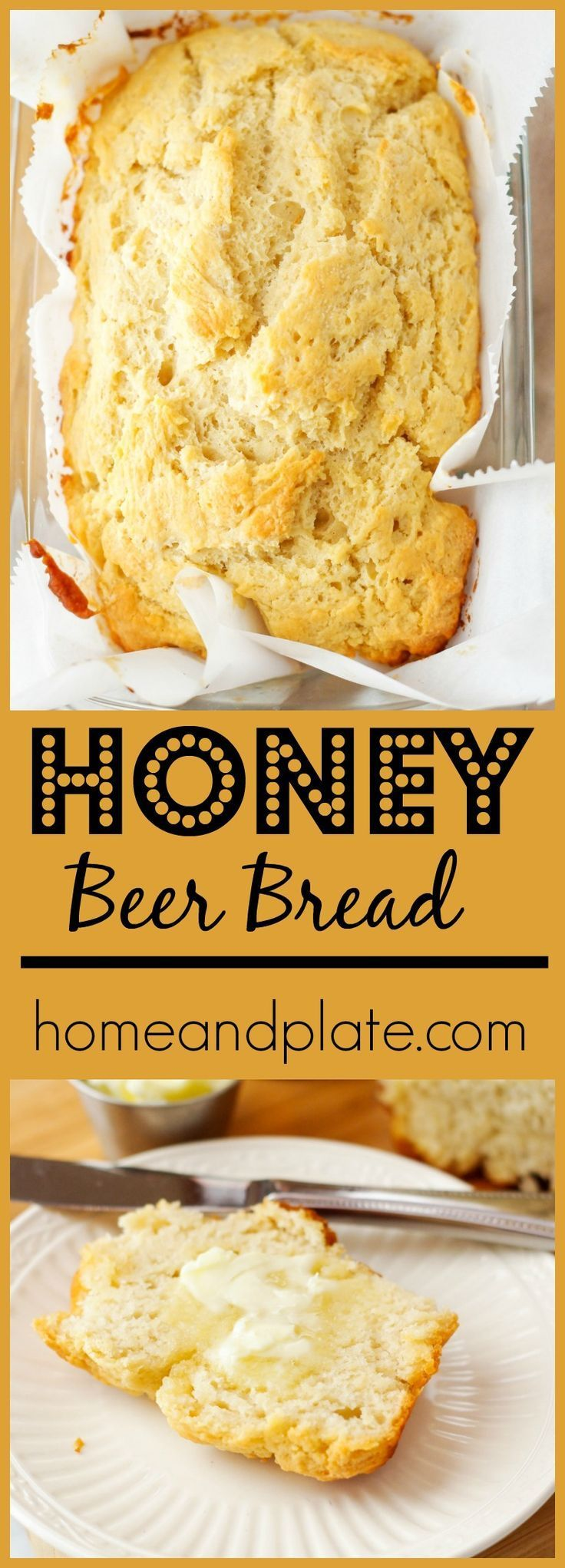 Grapefruit Honey Beer Bread