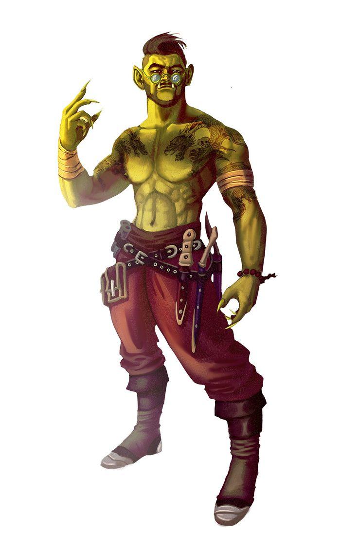 ArtStation - Imperial Dragon Sorcerer, Francesco Di Pastena