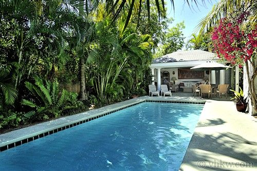 Key west rentals large private swimming poolwith - Outdoor swimming pools north west ...