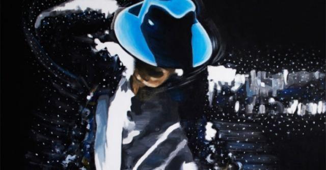 Michael Jackson, geniul magician in 12 picturi electrice