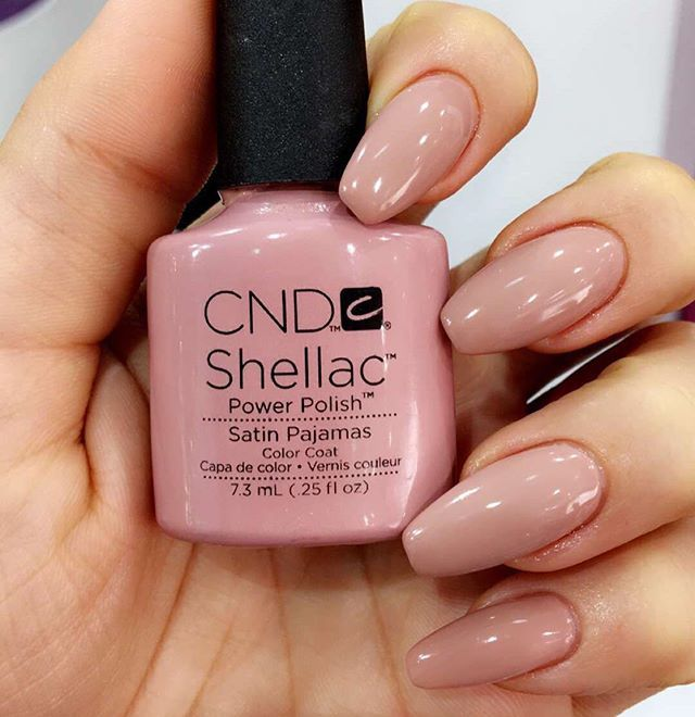 Obsessed with this color!! Satin Pajamas by CND (close to my skin tone)