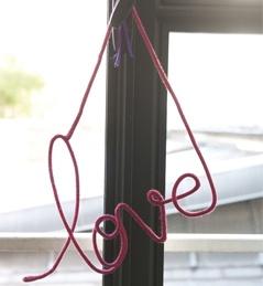 mot au tricotin - en projet pour mes nièces