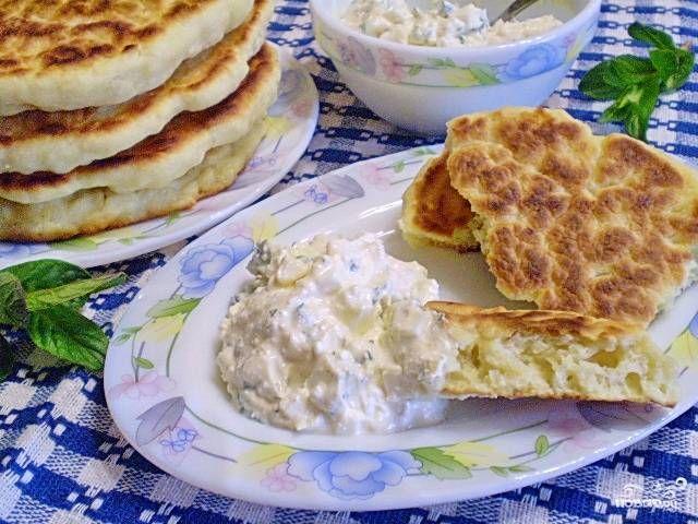 Лепешки с творогом диетические - пошаговый рецепт с фото на Повар.ру