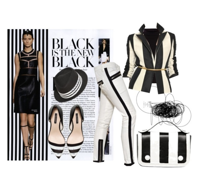 Black, off-white, stripes... More than ever this summer 2013