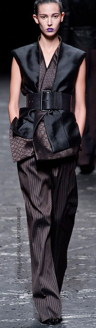 Haider Ackermann - The combination of pattern, fabric & texture is just amazing!