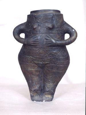 Figurine from Vidra Civilization, Romania, c. 4000 BC