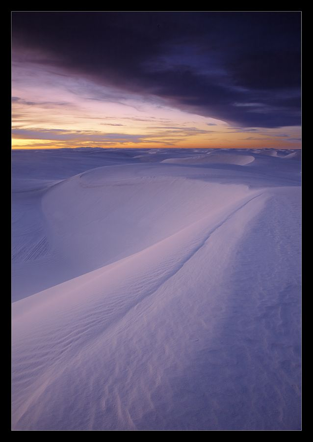 DUNE. White Sands NM, New Mexico, USA #white sands nm #new mexico #usa Автор: Vadim Balakin