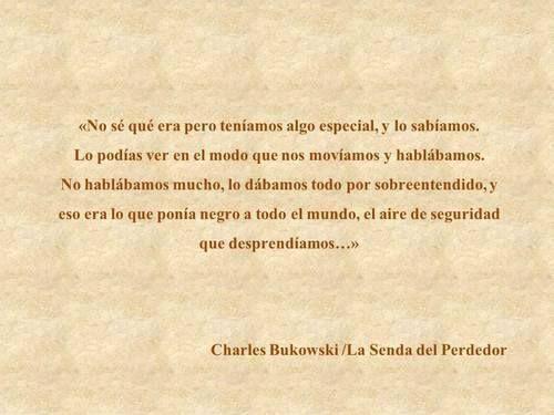 〽️ Charles Bukowsky...