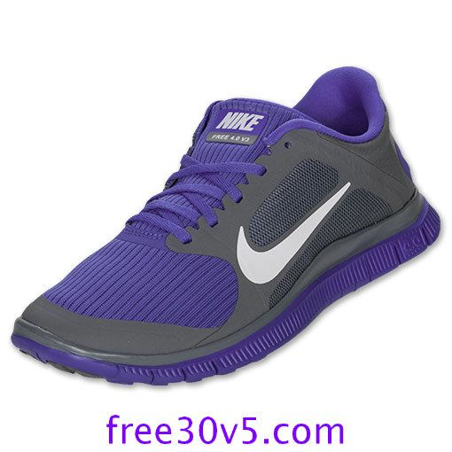 Nike Free Run 4.0 V3 Chaussures Pour Femmes Respirent Les Gens Violet
