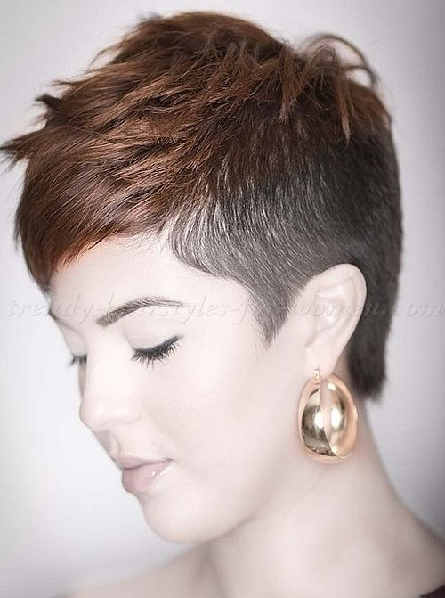Short Shaved Hairstyles 277 Best Try In 2015 Images On Pinterest  Short Hair Short