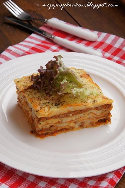 Lazania - lasagne bolognese