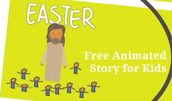 Easter Story for children. This one is just over 4 minutes long and would be a perfect supplement to any lesson plan about Jesus' Re...