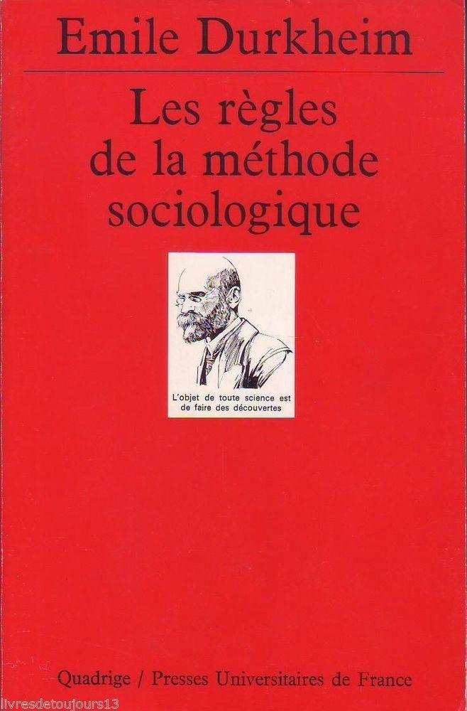 #sociologie : Les Regles De La Methode Sociologique d'Emile Durkheim. Faire de la sociologie une science, tel était le souhait de Durkheim lorsqu'il publie en 1894 cet ouvrage dans la Revue philosophique. Appliquant le rationalisme scientifique aux phénomènes sociaux, la sociologie a pour vocation d'établir des lois de la vie sociale comme il existe des lois de la nature. Dans une introduction, François Dubet explique l'argument de Durkheim, ses lignes de force mais aussi les (...)