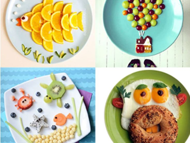 Il est toujours difficile de faire manger les enfants. Voici 50 idées d'assiettes ludiques pour régaler les bambins