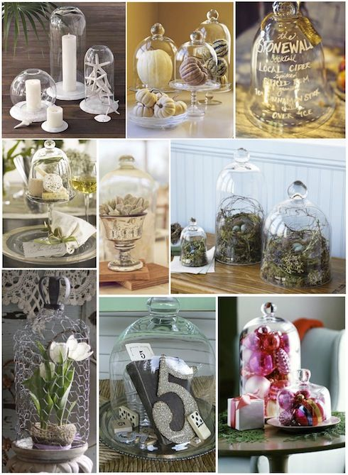 127 best accessories glass domes images on pinterest for Bell jar ideas