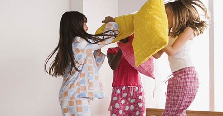 Sleepover games for kids: MASH, telephone and more