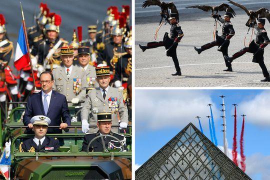 Le défilé militaire en images