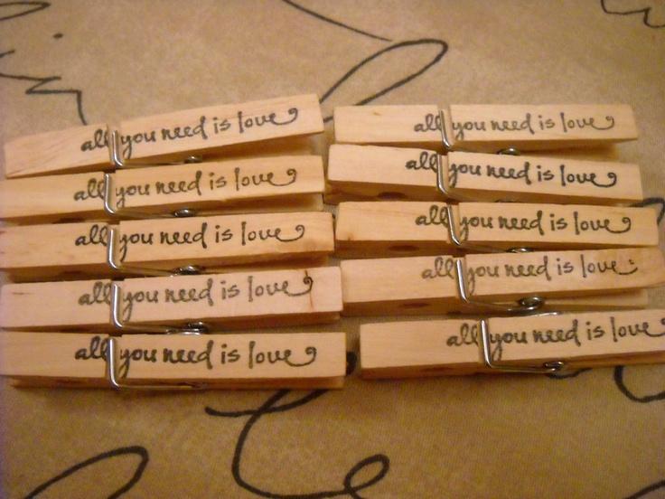 11 best wishing tree images on pinterest wedding stuff wedding love clothespins wedding wish tree wedding favors set of 10 fandeluxe Images