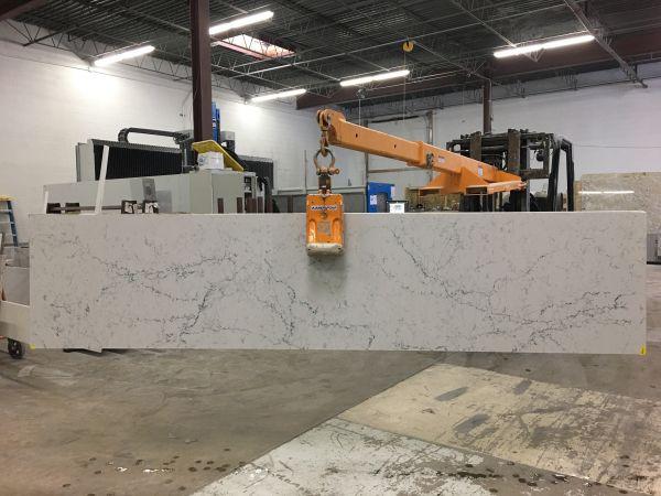 Remnants White Attica 5143 Artistic Granite And Quartz Countertops Chicago In 2020 Quartz Countertops Attica Kitchen Visualizer