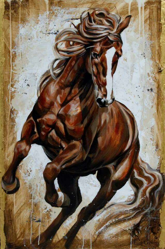 Los caballos son increíbles criaturas. Where some region of the infinite consciousness are brought to movement by the mind. Manifest!