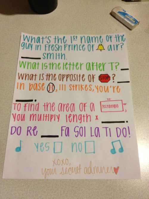 Make them work a little for it... | 18 Sickeningly Romantic Ways To Ask Out Your Crush
