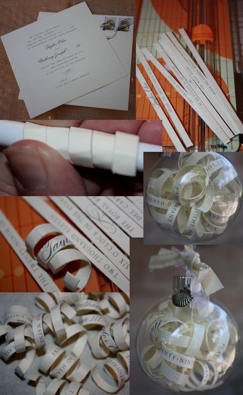 Craft Wedding Gifts: 25+ Best Ideas About Wedding Invitation Ornament On