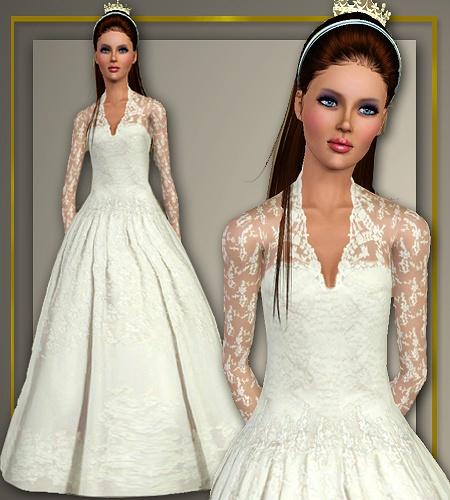 Wedding Altar In Sims 3: Kate Middleton Wedding Dress