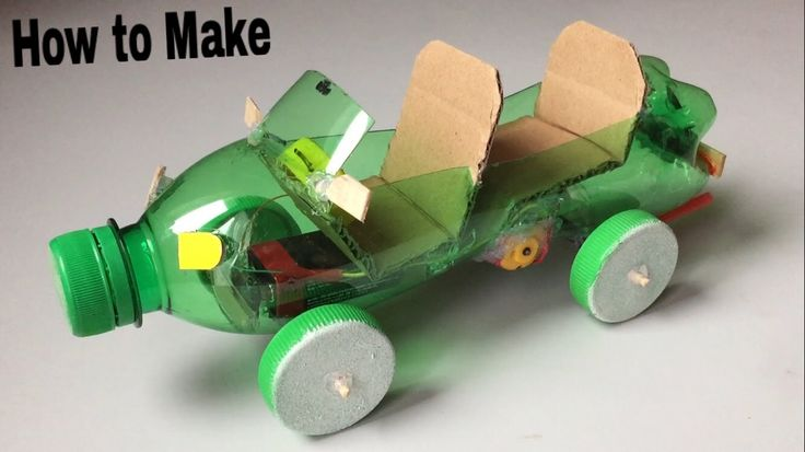 How To Make A Car Out Of Plastic Bottle Powered Car