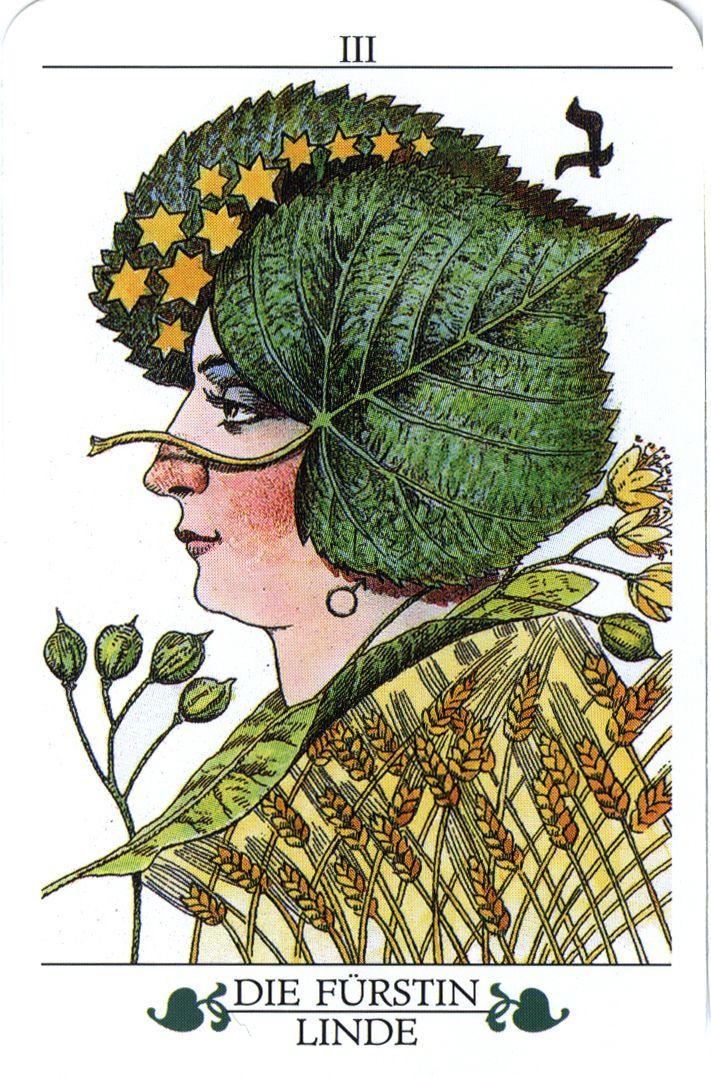 The Empress from the Madru Das Baum Tarot