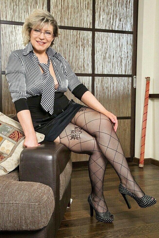 Mature devil free stockings