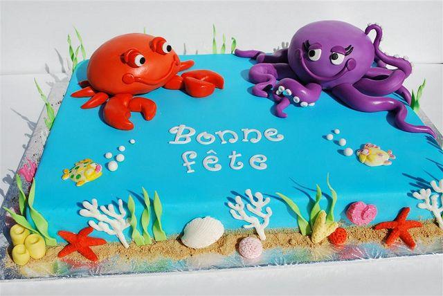 Twins 1st Birthday Cake by Twisted Sugar, via Flickr