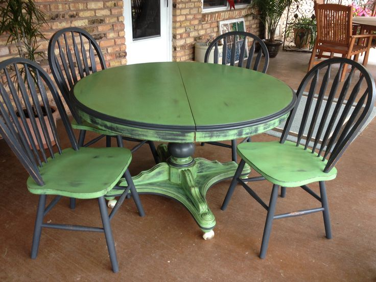 160 Best Painted Dining Set Images On Pinterest