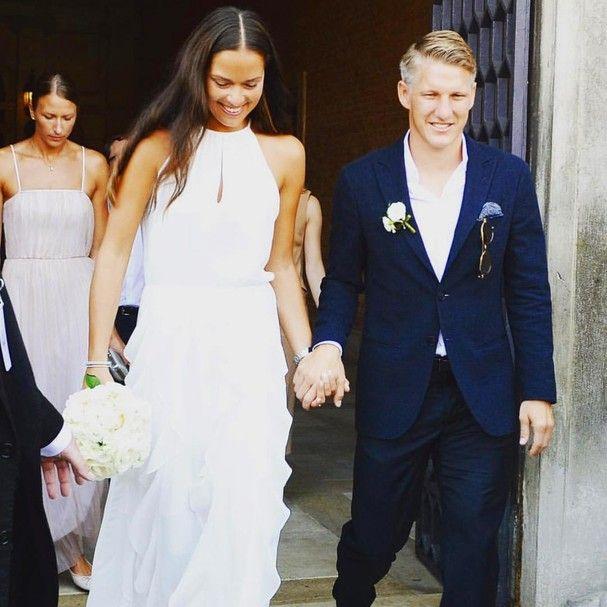 Ana Ivanovic se casou com o jogador de futebol Bastian Schweinsteiger em Veneza, na Itália (Foto: Reprodução/ Instagram @parkernewyork)