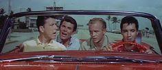 Girl Happy = 1965 4 14 -Scéne du film avec Gary Crosby, Joby Baker, ELVIS, Jimmy Hawkins..