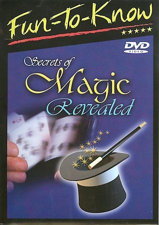 Fun To Know Secrets of Magic Revealed DVD 2005 Musical & Performing Arts Video
