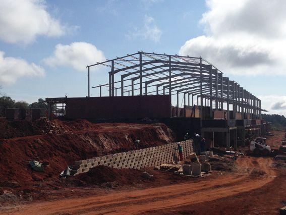 Sepetermber 2013 progress #acaciabusinesspark #building #businesspark #hillcrestcommercial #southafrica