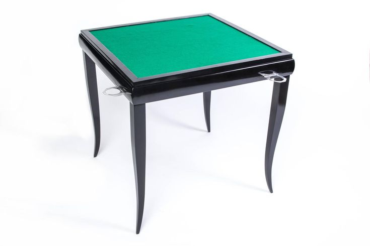 Wonderful Art Deco Game Table   From a unique collection of antique and modern game tables at https://www.1stdibs.com/furniture/tables/game-tables/